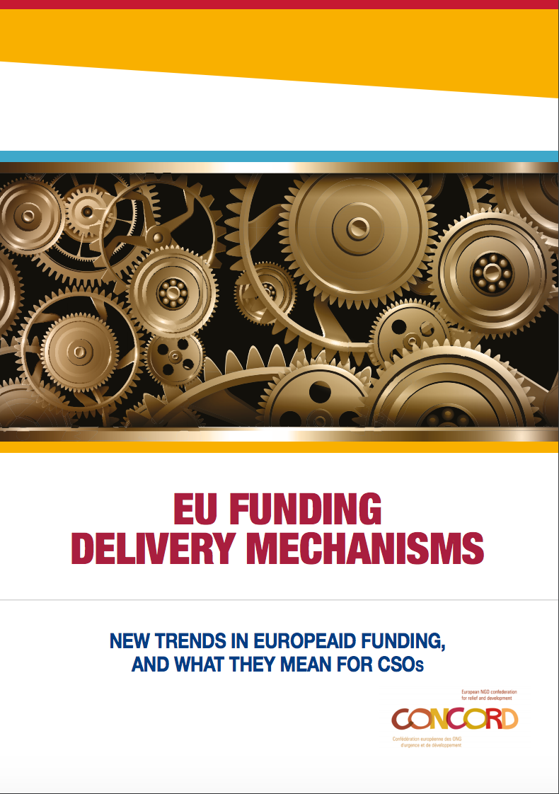 EU Funding Delivery Mechanisms cover page